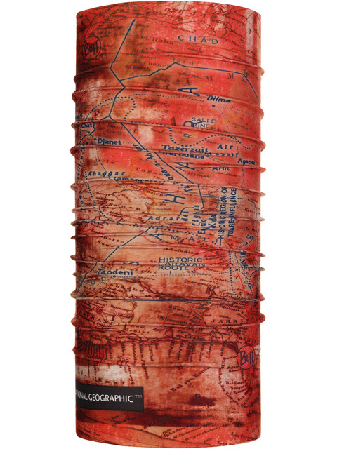 Buff National Geographic Coolnet UV+ Neck Tube Nomad Rusty